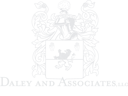 Daley and Associates White Logo