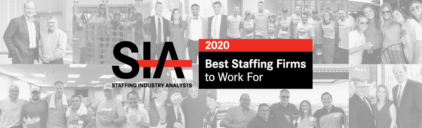 SIA Best Staffing Firms to Work For 2020